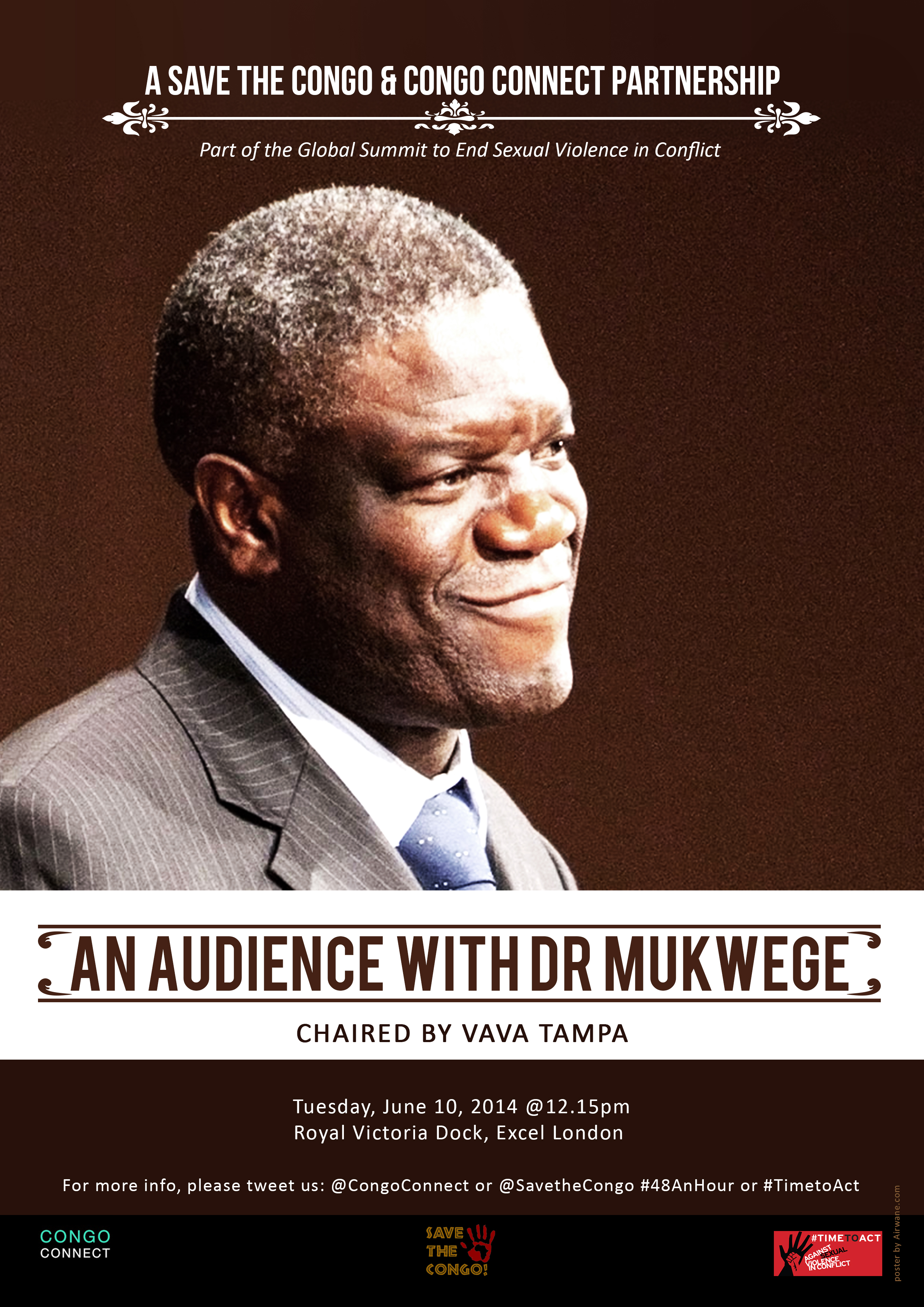An Audience with Dr Mukwege